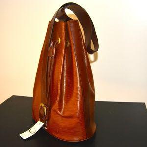 Handbags - NEW Brown Genuine Leather Italian Backpack